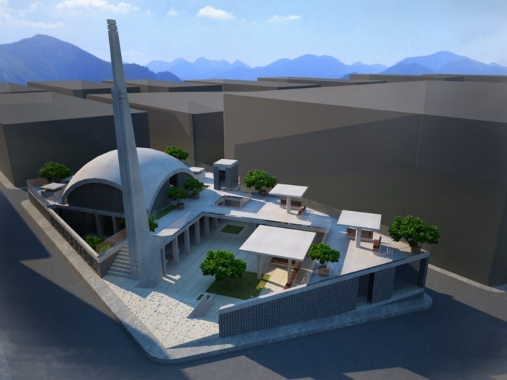 Yeşilyurt Mosque Proposal Project (2013)